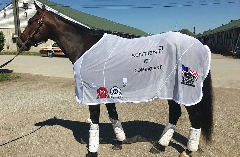 SENTIENT JET TO SUPPORT HOMES FOR OUR TROOPS THROUGH SPONSORSHIP OF KENTUCKY DERBY CONTENDER COMBATANT