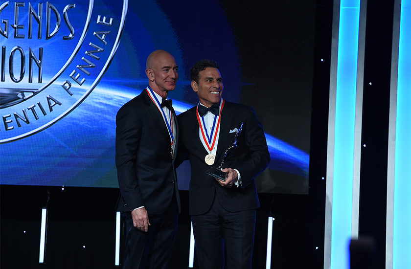 Sentient Jet Chairman Kenn Ricci Inducted into the Living Legends of Aviation