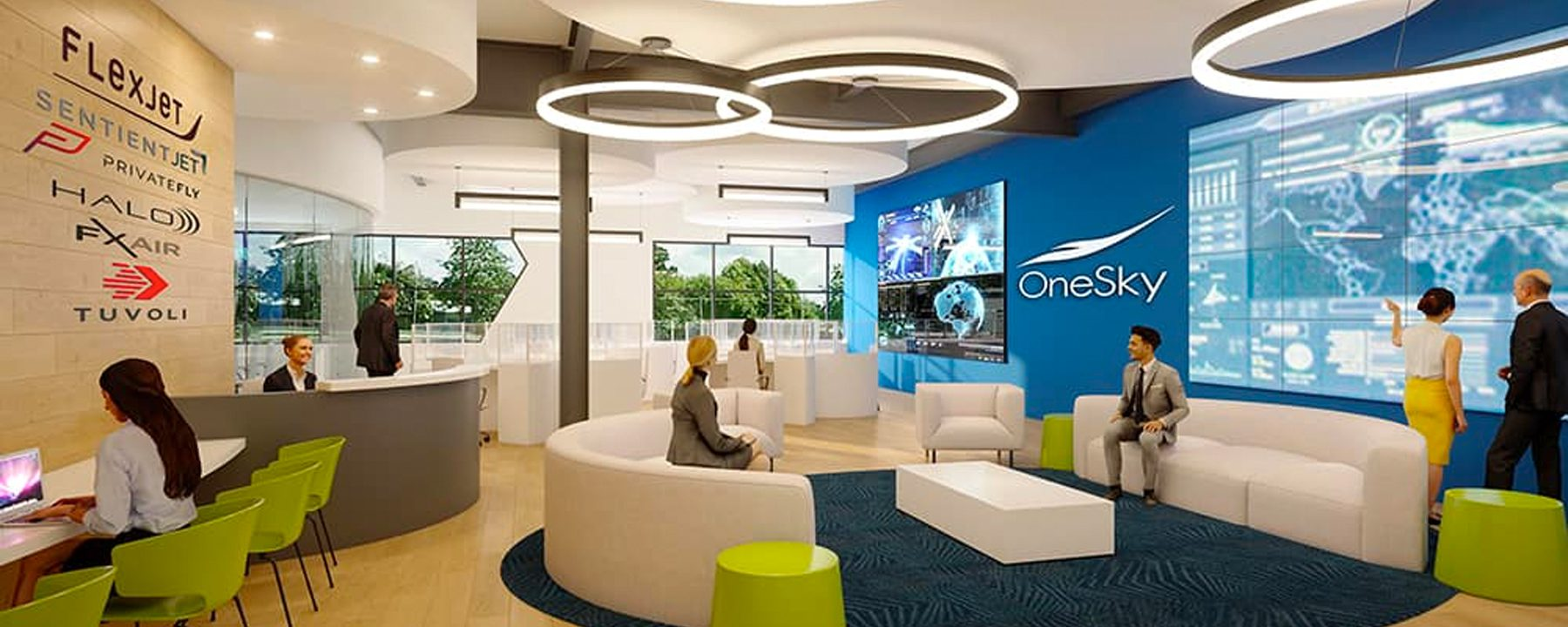 OneSky Flight Lobby